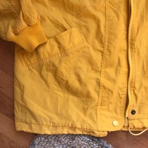 Vintage Jackets & Coats - Vintage Yellow Rain Jacket